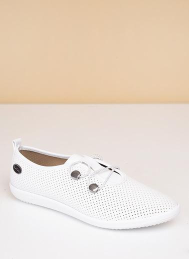 Pierre Cardin Kadın   Ayakkabı 158 Beyaz